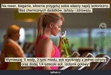 Jak zrobić napój izotoniczny?