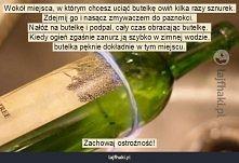 Jak przeciąć szklaną butelkę?