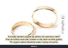 Jak czyścić złotą biżuterię?