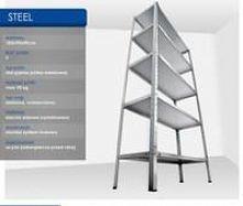 Regał metalowy Steel 180x90...