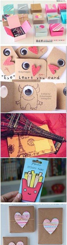 pakowanie prezentów :))