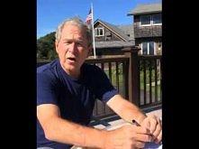 ALS Ice Bucket Challenge - George W. Bush