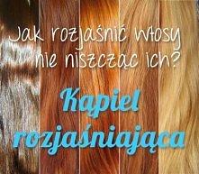 próbowała któraś z was tej metody rozjaśniania włosów? ciekawią mnie efekty i czy włosy są równomiernie rozjaśnione