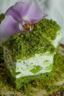 Leśny mech na bogato. Ciasto ze szpinakiem. Kliknij w zdjęcie, żeby zobaczyć ...