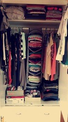 mój bałagan w szafie, co sądzicie ? ;)