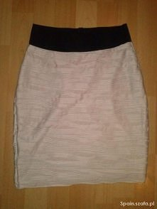 Pudrowa spódniczka bandage :)