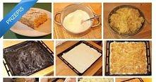 najprostsza szarlotka-sucha i bez ugniatania ciasta