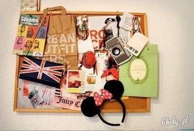 Siemanensiooo♥  Jakies pomysły na dekorowanie tablic korkowych?;p