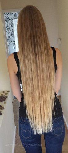 Teraz na topie są długie włosy. Większość dziewczyn marzy o długich i pięknyc...