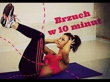 Ćwiczenia na brzuch. Trening w 10 minut [RUSZ SIĘ]