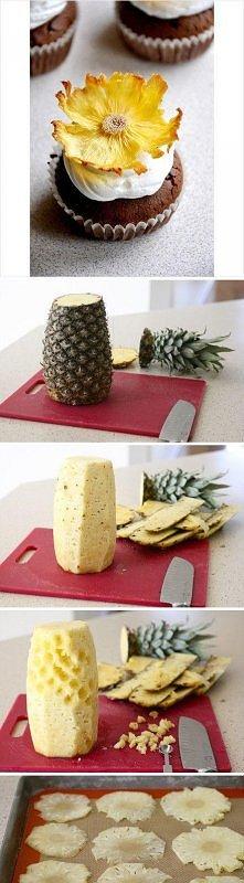 Ananas , ozdoba i takie proste