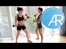 AR Sculpted Arms and Tiny Waist Workout w/ Today Show's Jenna Wolfe