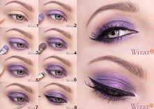 Wieczorowy makijaż oczu z f...