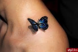 Motyl 3d Na Tatuaże Zszywkapl