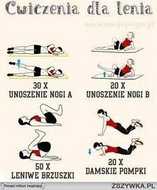 zaczęłam ćwiczyć ;')