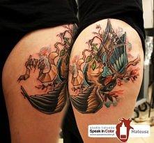 studio tatuażu Speak in Color , wodzislaw Śląski wykonał Mateusz