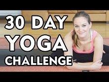 Day 1 - 30 Day Yoga Challenge - Let's Get Started!  Ktoś próbował, warto?