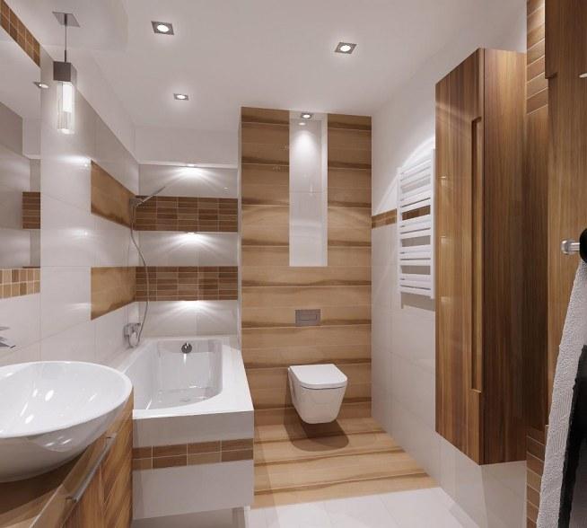 łazienka Imitacja Drewna Na Wnetrza Zszywkapl
