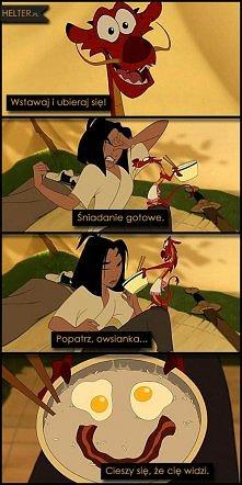 Mulan - Disney :: Owsianka!...