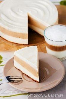 Sernik latte macchiato bez pieczenia ! PRZEPIS ♥