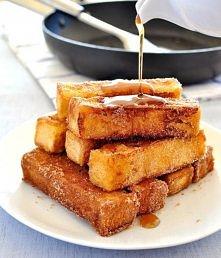 Cynamonowe paluszki jak tosty francuskie