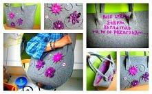 Torba na zamówienie Pana Karola, z przesłaniem dla dziewczyny.. :)  Zachęcam do tworzenia własnych projektów :) grubenici@gmail.com