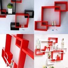 Nam się podobają takie designersie półeczki, a wam? :) Mogą być wykorzystywane na różne sposoby.