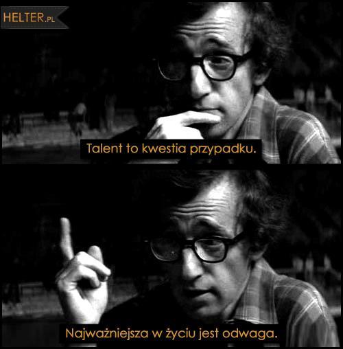 Woody Allen Manhattan 1979 Najważniejsza W życiu Jest