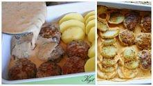 Zapiekane pulpeciki z mozzarellą