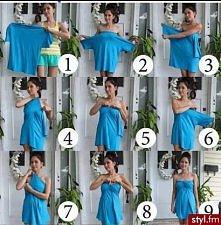 za szeroka bluzka ? .. bardzo prosty sposób na sukienke ! ;)