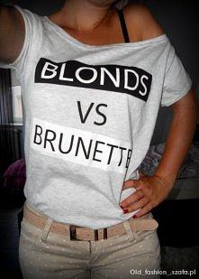 Jesteś brunetką czy blondynką?