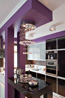 Jak wam się podoba taki pomysł na organizację kuchni? Piękne dobrane dodatki robią wrażenie.