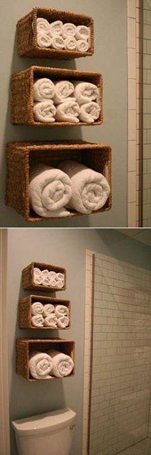 Pomysł do łazienki.