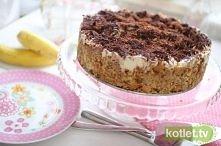 Banoffee - przepyszne ciasto bez pieczenia ;)