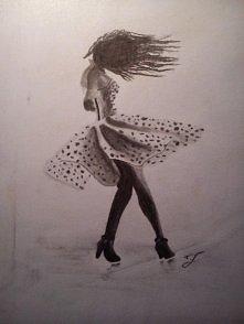 mój rysunek węglem ;) więcej na blogu, link w komentarzu :)