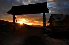 Zachód słońca, Bieszczady