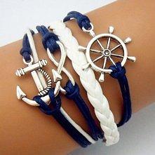 bransoletka w stylu morskim