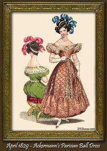 Showing posts with label 19th C Fashions