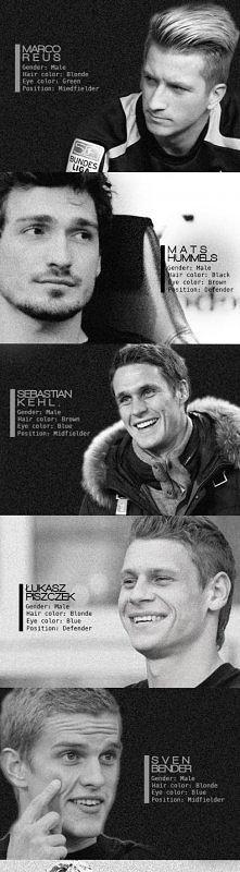 Piłkarze z BVB ^^