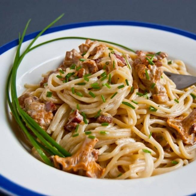 Przepis Na Makaron Z Kurkami Na Bazie Przepisu Na Spaghetti Car Na