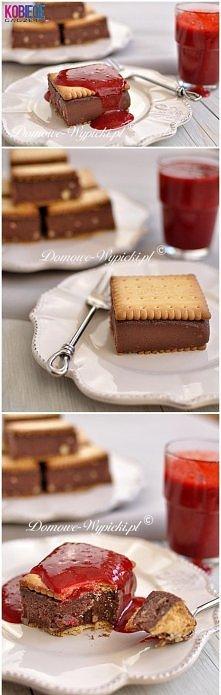 Ciasto kasza manna według Ewy Wachowicz ♥♥♥ Składniki: 1 litr mleka, 1 szklanka cukru (200g), 3 łyżki kakao, 1 szklanka kaszy manny, 1 kostka masła (250g) lub Kasi :), herbatnik...