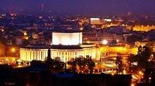 Śliczny widok z Wieży Ciśnień na środmieście a w szczególności na Opere Nowa(...