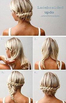 Prosta, a ładna fryzura :)