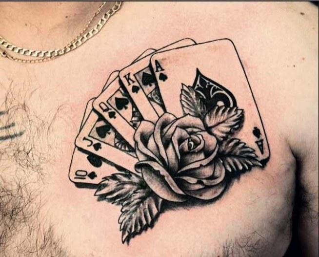 Karty Z Różą Co Myślicie Na Tatuaże I Piercing Zszywkapl