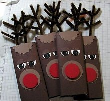 Opakowanie na czekoladę - Boże Narodzenie