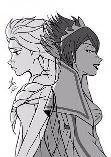 Elsa i Evil Elsa