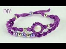 Macrame Double Bracelet - T...