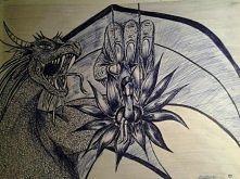Format A3 + długopis.  Lubię fantastykę :) Proszę o opinię z Waszej strony :)
