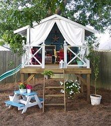 Magiczny domek dla dzieci