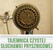 Jak wyczyścić słuchawkę prysznicową